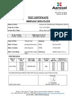 Sharanu Air Conditioning - M.P.hepa Filter - 560 x 560 x 150 Mm - 29.01.2018