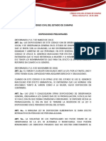 Código civil Chiapas