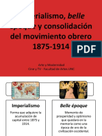 Imperialismo, Belle Époque y Movimiento Obrero