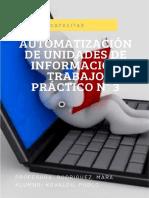 Trabajo Práctico Automatizacion 3- Kovalou