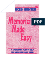 Memorizing Made Easy - Charles Hunter