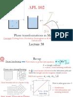 Lecture 38 01Nov17