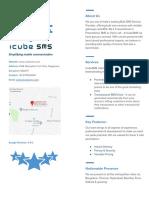 IcubeSMS Company Profile