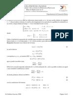 Hoja Ejercicios Fourier 2019A 8 Ecuacion de La Onda 1D
