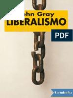 Liberalismo -John Gray-