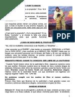 COMO ESTUDIO LA BIBLIA Clase 8 Sanidad Interior Corazon Perdon