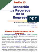 Sesión 13 Planeación de Recursos de La Empresa