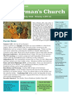 st germans newsletter - 14 july 2019 - trinity 4