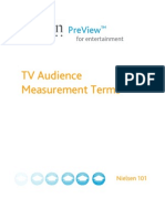 Nielsen101 TV Audience Terms Final