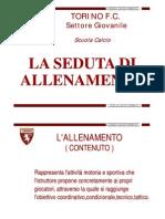La Seduta Di to Alla Scuola Calcio Del Torino F[1].C