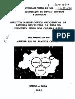 geoquimica bauxita