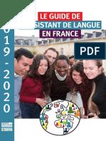 Publication Guide de l'Assistant de Langues Vivantes 2019-2020