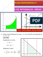 Integrales Areas