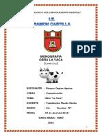 Monografia de La Vaca