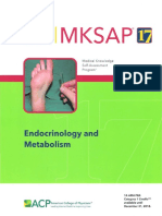 MKSAP endocrinology and metabolism