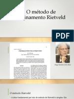 O Método de Refinamento Rietveld