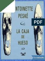 La Caja de Hueso - Antoinette Peske