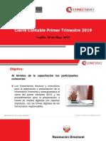 Cierre Trimestral 20-05-2019