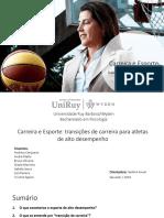 Apresentação de Psicologia do Esporte