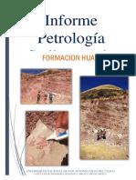 Informe Petrología