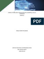 APLICACION DE HERRAMIENTAS METODOLOGICAS EN INVESTIGACION PROCESOS DE CIENCIA, TECNOLOGIA E INNOVACION actividad 1.docx