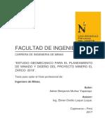 Minería y geomecánica, Mineria peruana