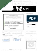 10 Actions Pour Relancer Une Entreprise Au Bord de La Faillite _ Entreprise Sans Fautes