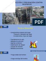 Prevención y Proteccion Contra Incendios
