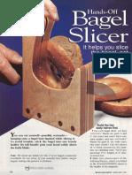 Bagle slicer