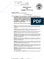 DPW/JCIA Merger ordinance