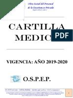 Cartilla Medica 2019
