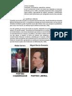Partidos Politicos de La Epoca Colonial