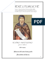 Vespro e Mattutino Del 14 Marzo (1)