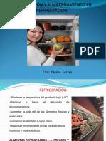 REFRIGERACION Y ALMACENACION DE ALIMENTOS