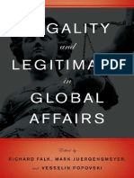 JURGENMAYER Legality and Legitimacy in Global Affairs