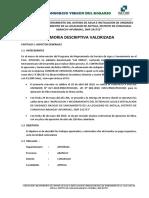 Memoria Descriptiva 01 Valorizacion Antilla