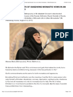 Abbess Maria (Sidiropoulos). Practical Aspects of Observing Monastic Vows in an Urban Monastery