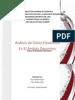Analisis de Datos Estadisticos en El Ambito Deportivo