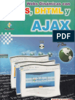 Webs Dinámicas Con CSS, DHTML y Ajax - FL