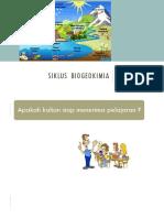 SIKLUS  biogeokimia