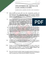 reglamento de motoclub