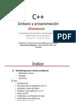 Clase2-Sintaxis y Programación
