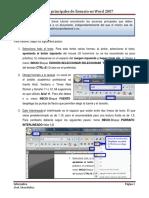 3 Acciones Principales de Formato en Word
