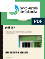 Banco Agrario exposición power point
