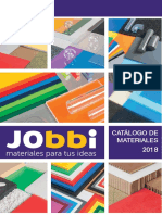 Jobbi - cataolo de materiales rigidos 2018