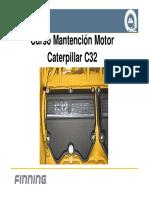 MOTOR C32 CATERPILLAR