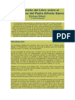 P. Horacio Bojorge - A Propósito Del Libro Sobre El Modernismo Del Pe. Alfredo Saenz