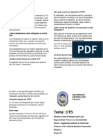 Diptico CTS