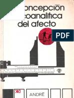 329935063 La Concepcio n Psicoanali Tica Del Afecto Andre Green PDF