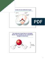 Estructura de Agua y pH